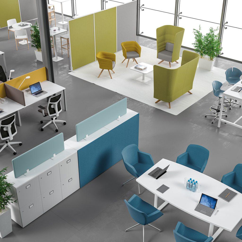 Seireb Toulouse conception de vos mobiliers de bureau eco-responsables à Toulouse pour des bureaux professionnels