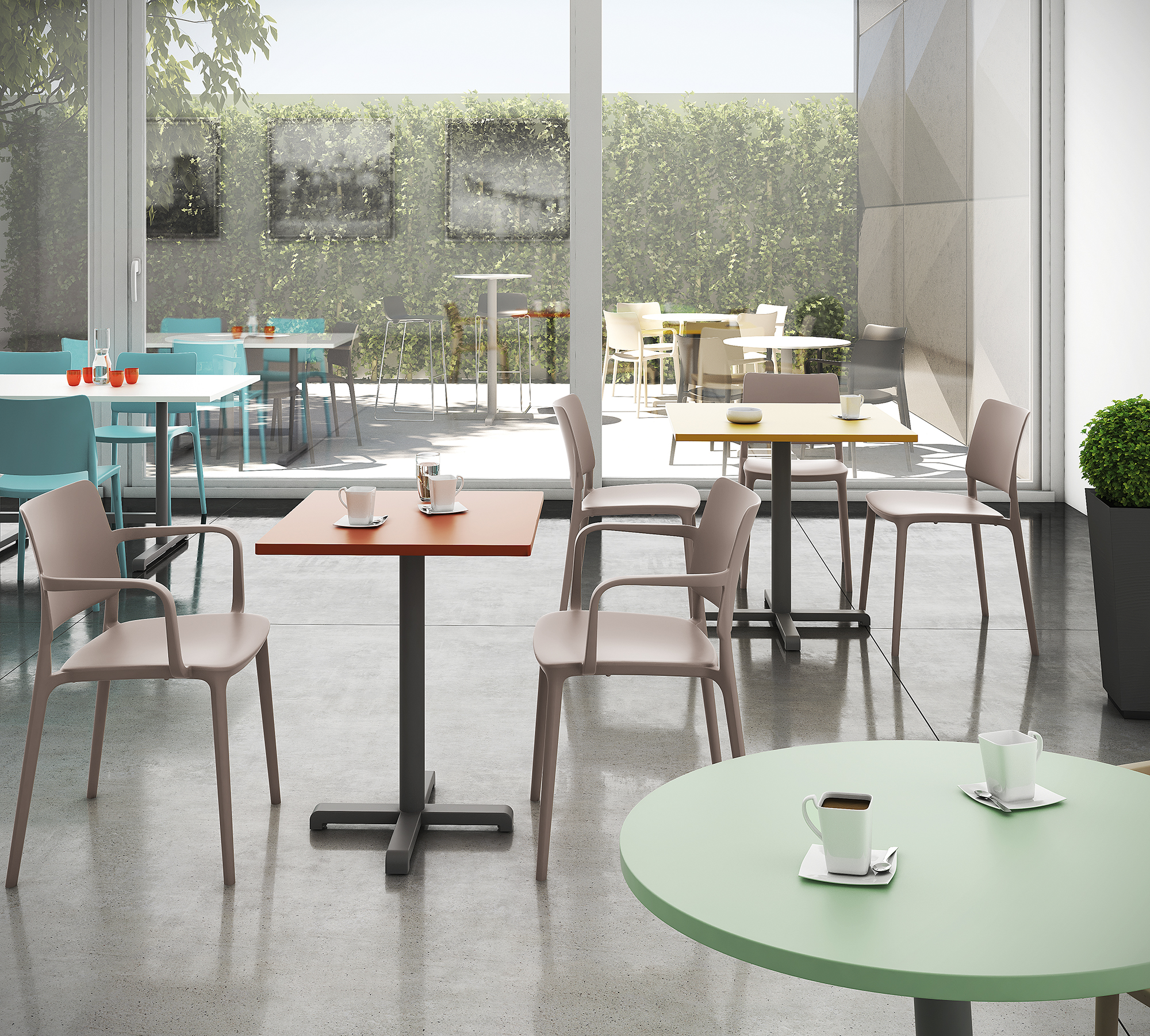 TABLES IN & OUDOOR 1 ambiance P212